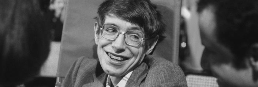 Stephen Hawking jeune